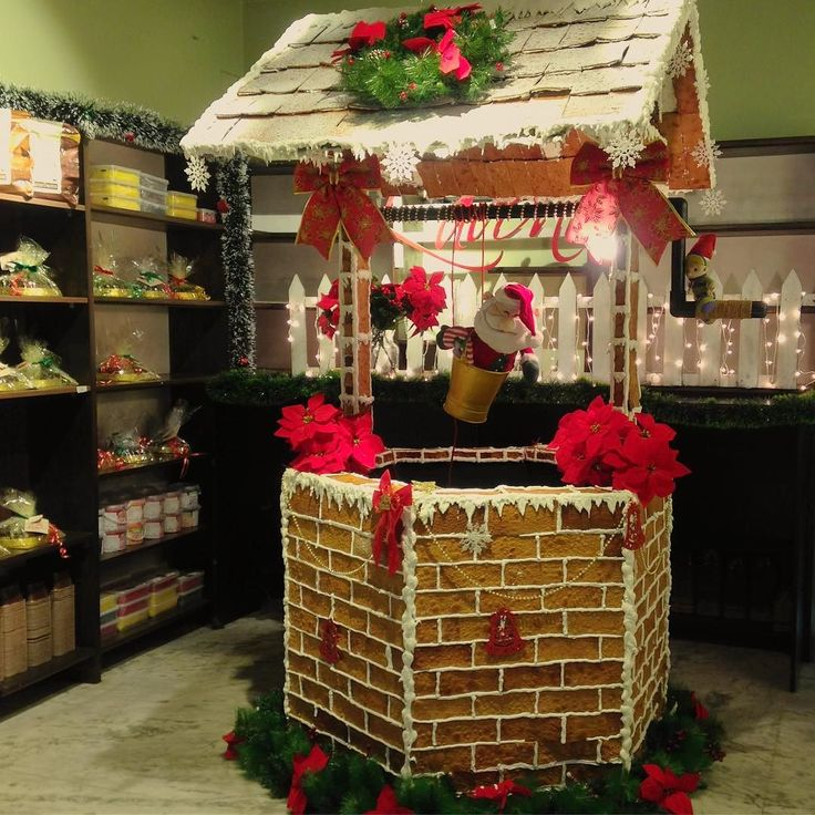 Did you make your wish yet?  The team at Lavonne has made this beautiful Gingerbread Wishing well continuing the Christmas tradition of fabulous decor!  #Bangalore come and make your wish.