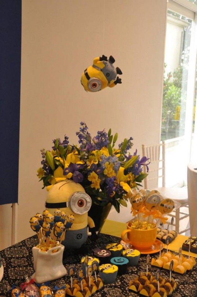 Despicable Me Minion Party via Kara's Party Ideas Kara'sPartyIdeas.com #Minion #PartyIdeas #Supplies (4)