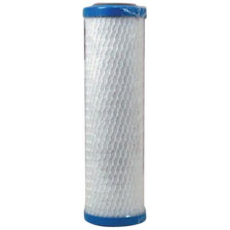 Flow-Pur Maxvoc-975RV RV Activated Carbon Water Filter Cartridge for Flow-Pur Systems (Tear Drop #6), White