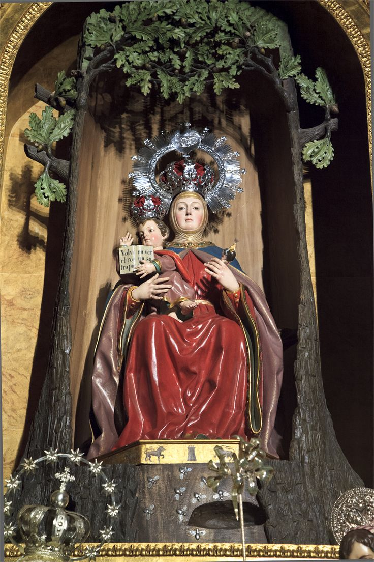 Statue of Our Lady of Valvanera, Madrid.