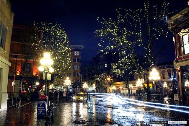 Rain City Nights in Vancouver