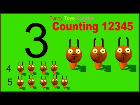 Number counting for children. Counting cartoon heroes. Dannis_goat-Halfeatenzombies.gif in Creative Commons Attribution-Share Alike 3.0 Unported. Subscribe t...