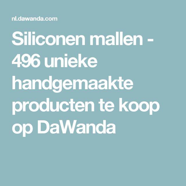 Siliconen mallen - 496 unieke handgemaakte producten te koop op DaWanda