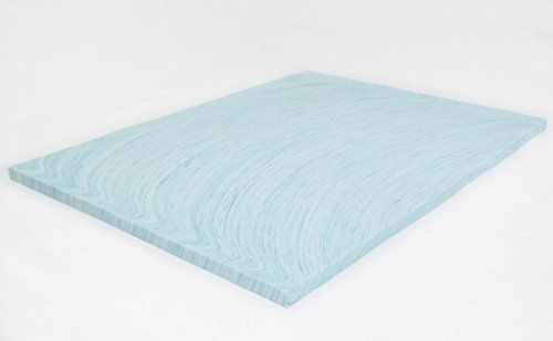 Revitalize your aging mattress with the #DreamFoam 3 inch gel swirl memory foam topper. The soft visco-elastic memory foam will add comfort and increase the qual...