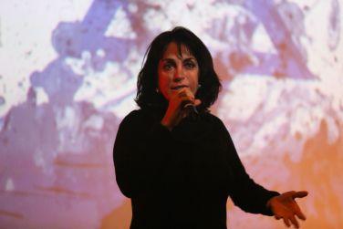Bate-papo com Claudia Matarazzo no Teatro Brasil Kirin