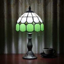 Европейский Тиффани Освещение Творческий Спальня Кабинет Рабочий Стол Лампа Light Hotel СВЕТОДИОДНЫЕ настольные лампы