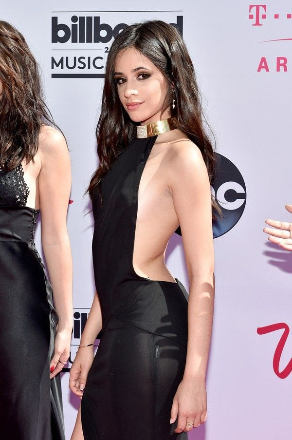 Camila Cabello Channels Taylor Swift's Oscars Look At The Billboard Music Awards