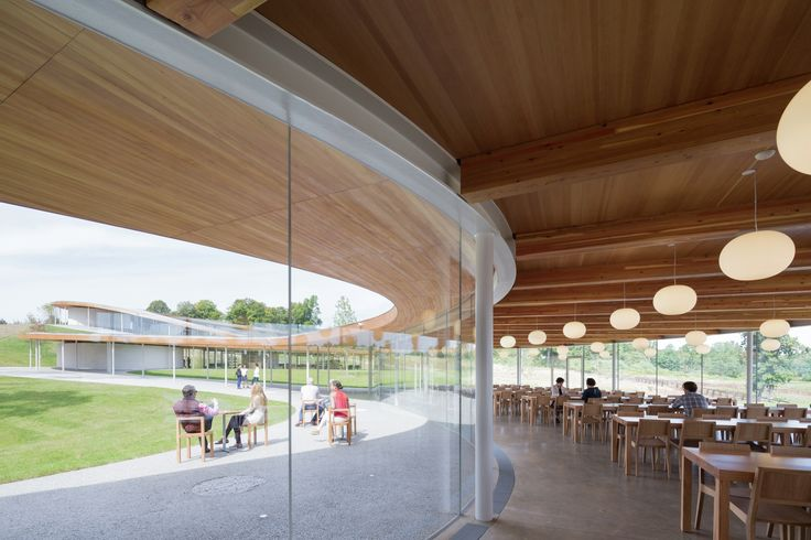 Completed in 2015 in New Canaan, United States. Images by Dean Kaufman, Iwan Baan. Project Description  Creation of a multipurpose building and landscape design for Grace Farms, an 80-acre natural environment in New Canaan,...