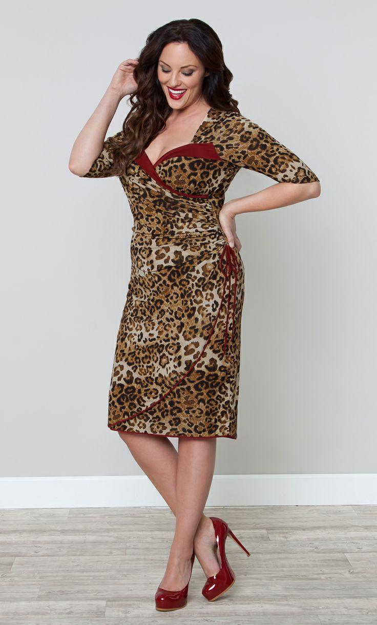 Portia Pin-Up Dress at Kiyonna Clothing