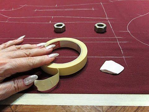 Как кроить шелк, шифон и другие подвижные ткани | Секрет кроя |  Лайфхак - YouTube
