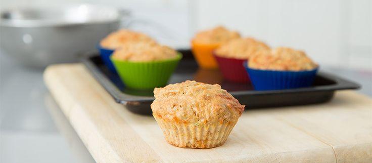 Muffins au saumon. Recette à faire avec votre enfant… et Chaminou!   #recette #enfants