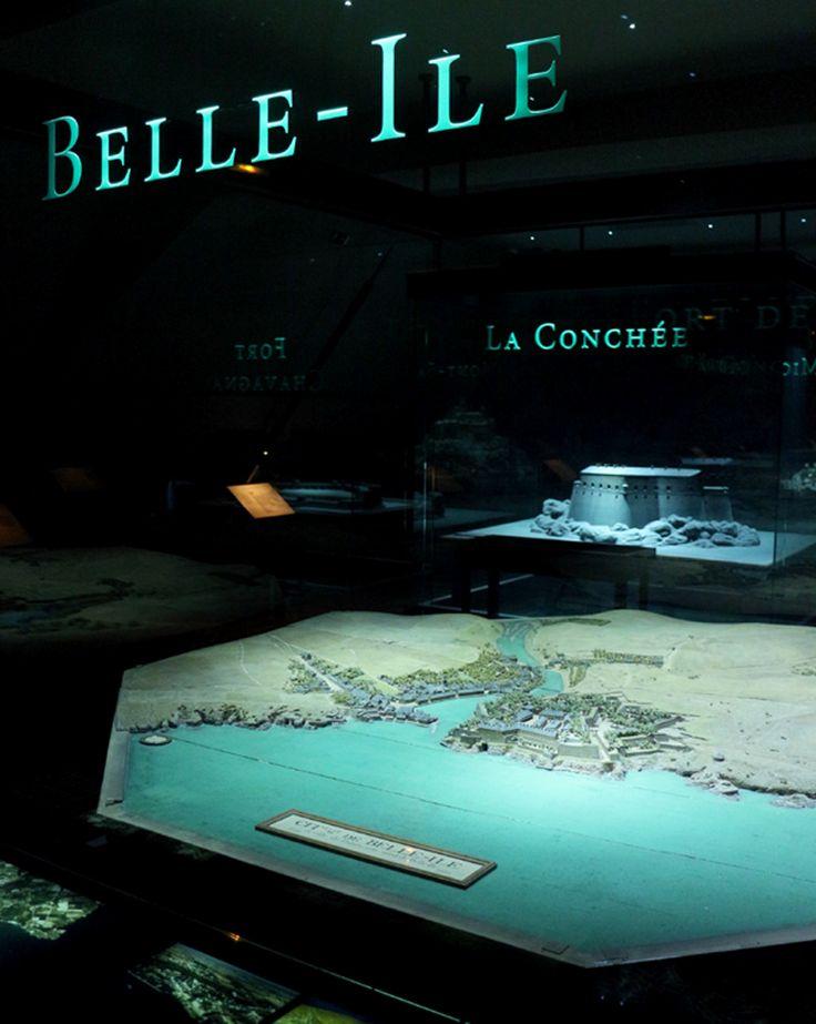 Plan-relief de Belle-Île-en-Mer, réalisé après 1762. Exposé à Paris. Notice du plan-relief : http://www.museedesplansreliefs.culture.fr/collections/maquettes/recherche/belle-ile-citadelle-et-le-palais   Photo © Musée des Plans-reliefs / G. Froger
