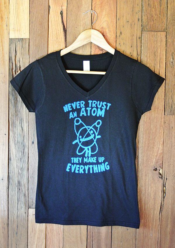 Ladies T-Shirt Atom