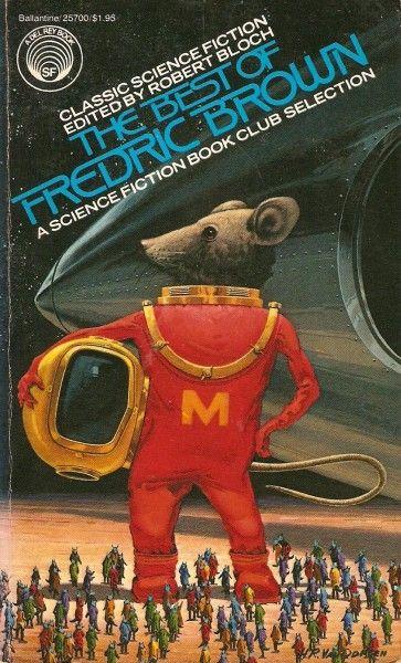 H.R. VAN DONGEN - The Best of Fredric Brown by Fredric Brown - 1977 Del Rey / Ballantine