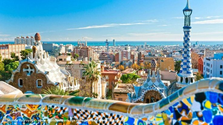 Billet d'avion pas cher pour Barcelone en Espagne, réserver un vol aller retour…