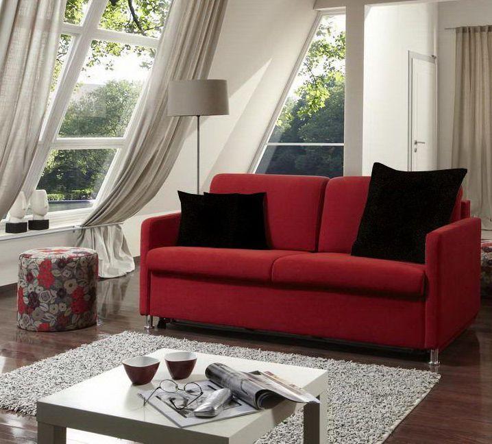 die besten 17 ideen zu rote sofas auf pinterest rotes sofa roter sofa dekor und rote couchzimmer. Black Bedroom Furniture Sets. Home Design Ideas