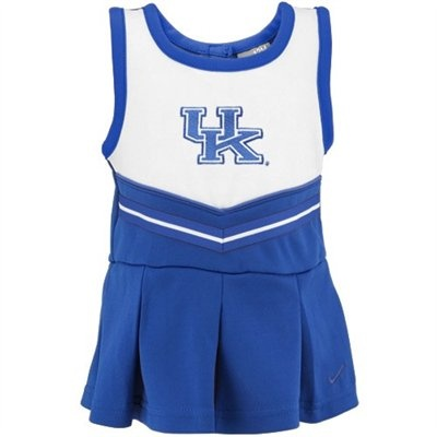 Nike Kentucky Wildcats Toddler Royal Blue Cheer Dress & Bloomers