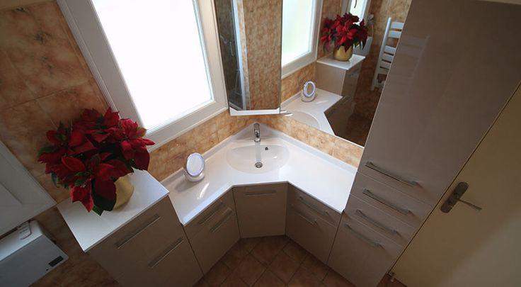 21 best Meuble d\u0027Angle de salle de bains images on Pinterest Form