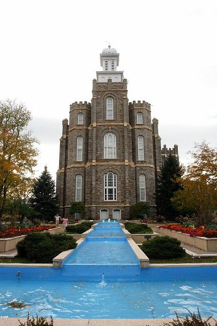 ~ Logan Temple ~ A new Fountain is now in the front....