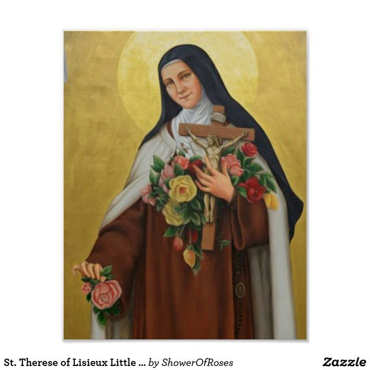 Saint Known As The Little Flower