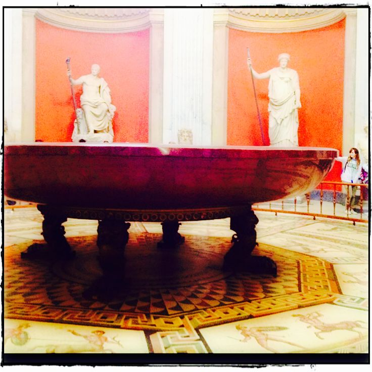 Ancient and modern worlds meet - inside the #VaticanMuseums