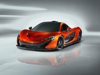 McLaren reveals the P1 design study, a successor to the incredible F1.