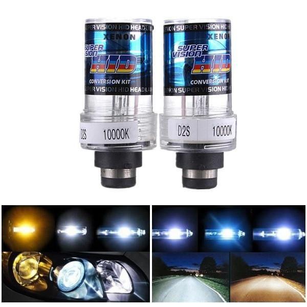 2 X 35W D2S Car HID White Xenon Headlight Light Lamp Bulbs
