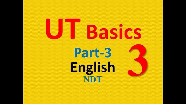 UT Basics Part-3 in English|| Ultrasonic Testing Basics||Challkpen NDT