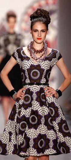 #Lena_Hoschek ~Latest African fashion, Ankara, kitenge, African women dresses, African prints, African men's fashion, Nigerian style, Ghanaian fashion ~DKK