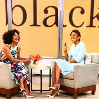 <p>Tracee Ellis Ross is going hard on the promo trail! The Blackish actress popped by Good Morning America in a multicolored top and skirt by Leka NYC: She completed her looks with white pumps. Shout out to Robin Roberts in pale blue and Valentino pumps! See both pieces in the brand's Spring 2015 collection. Hot!…</p>