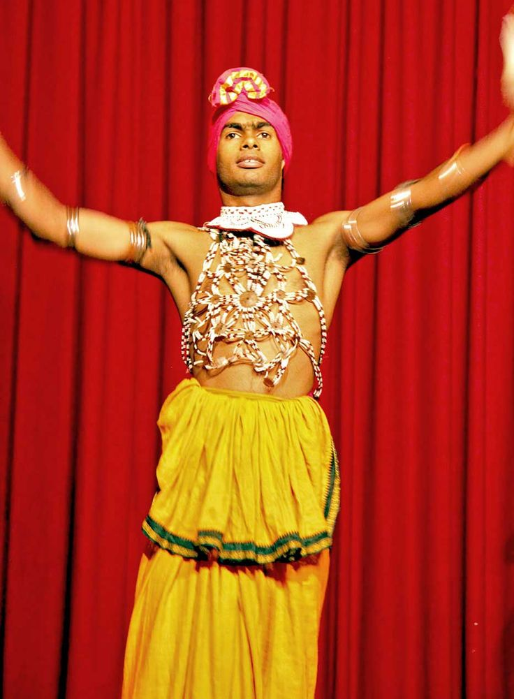 Traditional dancer in Kandy