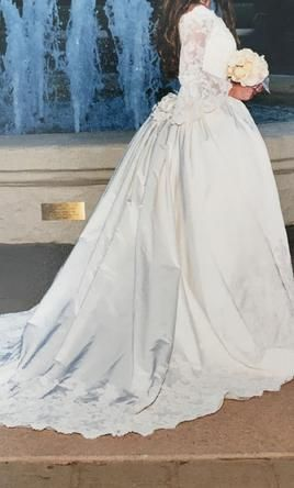 Other Saks Fifth Avenue Bal Harbour Wedding Salon  wedding dress currently for sale at 95% off retail.