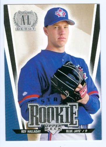 Roy Halladay. Was at his near no-hitter at end of his rookie season, or maybe before if it was a Sept. call up.