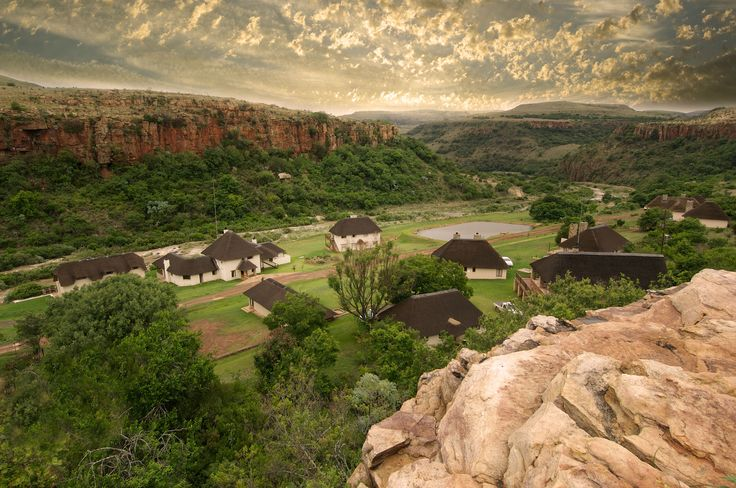 Take your best friends with you ... at Komati Gorge Lodge in Machadodorp, Mpumalanga, PETS ARE ALLOWED  On the banks of the Komati River, at the base of a miniature Grand Canyon, this small village of thatched dwellings provides affordable luxury in a most dramatic setting.  See more of Komati Gorge Lodge - Self Catering Bush Lodge accommodation on http://www.wheretostay.co.za/komatigorge