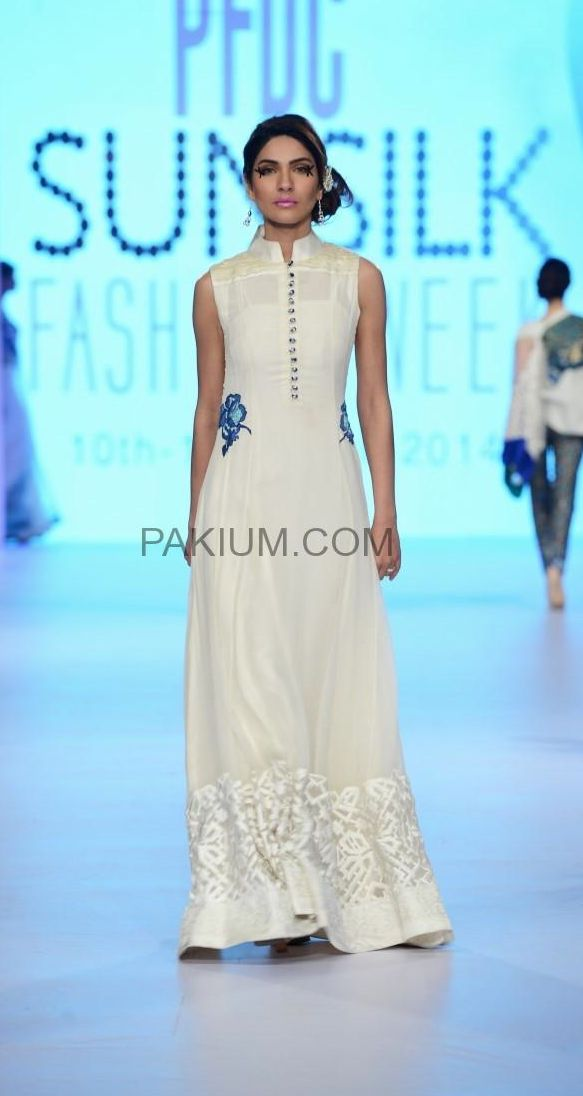 Teena-by-Hina-Butt-14 Designers Showcases at PFDC Sunsilk Fashion Week April 2014