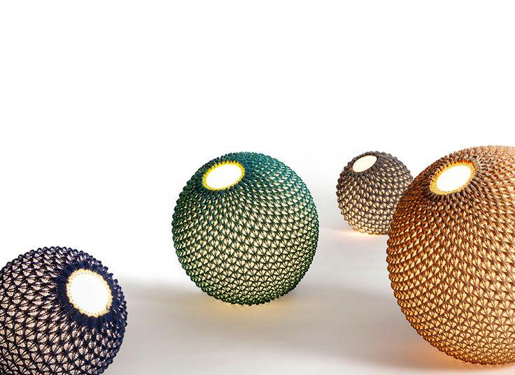 ariel zuckerman and oded sapir crochet floor balls