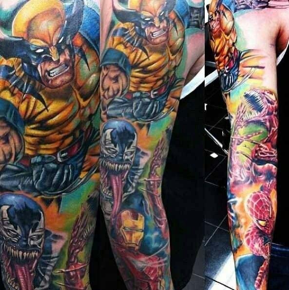 Marvel Tattoo