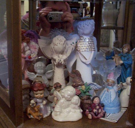 Angel curio shelf 6