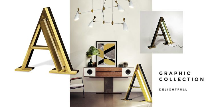 Golden interior design - Delightfull. Find it on unikstore.com. #unikstore #shop #golden #home #decor