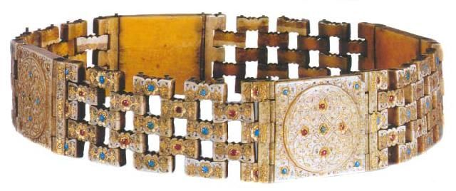 The Art Of Jewelry In The Ottoman Court, Belt For Sultan Selim II, Turkish And Islamic Arts Museum