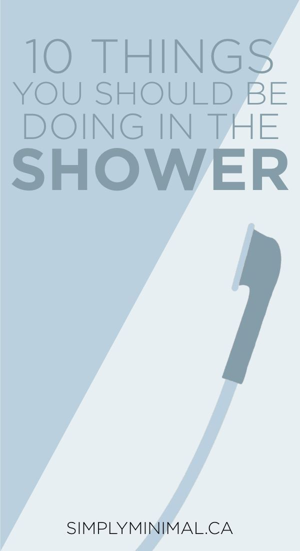 10 Things You Should Be Doing in the Shower | If you deal with body acne or dull hair or whatever else may be the problem, it could be something you're doing (or not doing!) in the shower! That may sound weird but your shower routine is very important for your skin health and hair health! Read this blog post to find 10 shower routine tips you need to be doing! | Shower routine, skin care routine, hair care, skin care tips, beauty tips