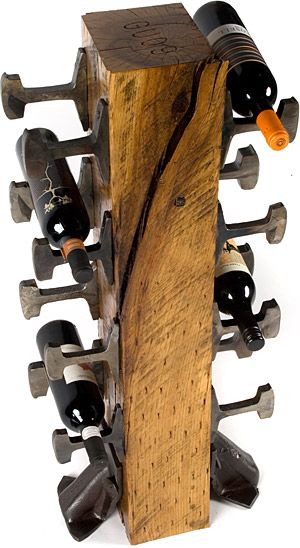 Rail Yard Wine Rack