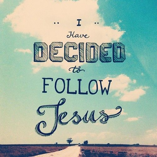 I have decided to follow Jesus, no turning back, no turning back. Christ is enough for me. Everything I need is in You. Everything I need. #hillsong