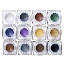 IMAGIC Ombretto Crema Impermeabile Duratura Shimmer Glow 12 Colori glitter…