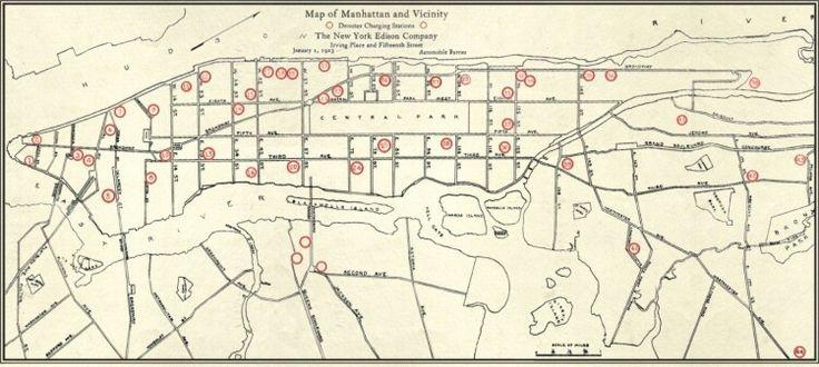 1923 manhattan charging station map ev charging