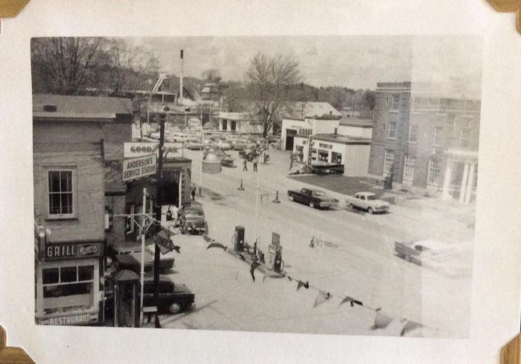 Terez Mull Photos of downtown late 50s.