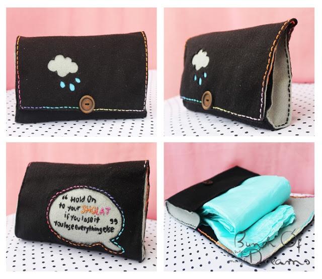 DIY Mukena Bag #clutch