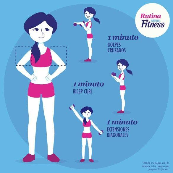 Rutina nestle fitness exercises pinterest fitness for Rutina fitness