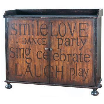 Pulaski Furniture Wine Cabinet