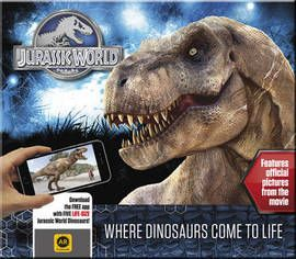 The official Augmented Reality book to accompany the highly anticipated Jurassic World, the next installment of the $2 billion film series, Jurassic Park. Steven Spielberg returns to executive produce the long-awaited next installment of his groundbreakin